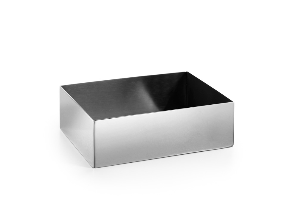 Contenitore porta salviette saon in acciaio inox pavone for Portasalviette di carta da bagno