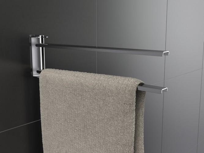 Porta salviette easy pavone casa arredamento bagno e for Accessori per bagno