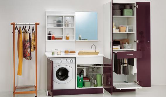 Lavanderia pavone casa arredamento bagno e design made in italy