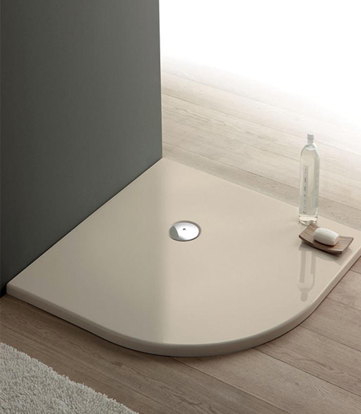Piatto doccia angolare acrilico h 3cm pavone casa - Pica casa box doccia ...