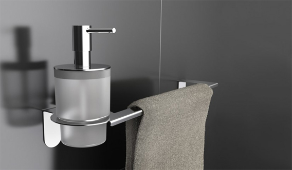 Accessori bagno pavone casa arredamento bagno e design for Accessori bagno da muro