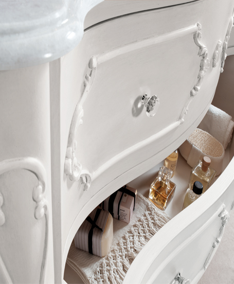 Mobile anastasia pavone casa arredamento bagno e design made in italy - Bernini mobili outlet ...