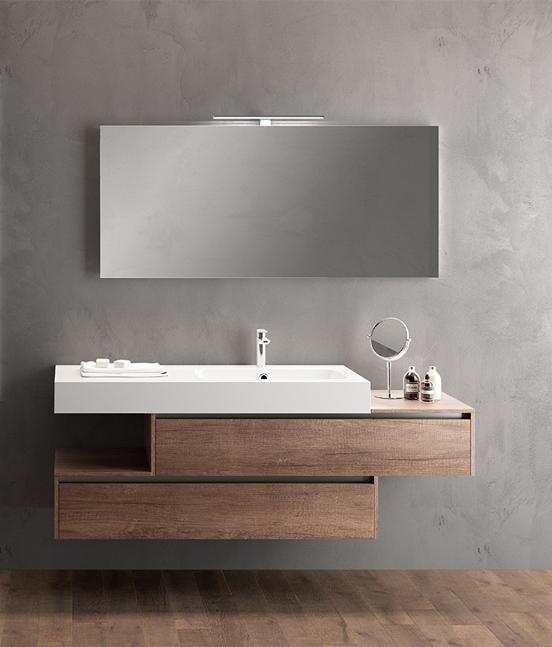 Mobile da bagno polaris 12 pavone casa arredamento for Piccoli mobili da bagno