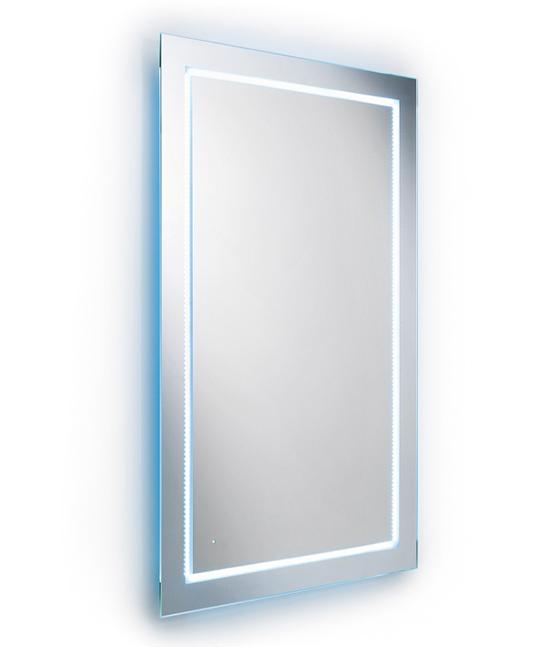 Specchio Luce Led Accensione A Sensore Pavone Casa