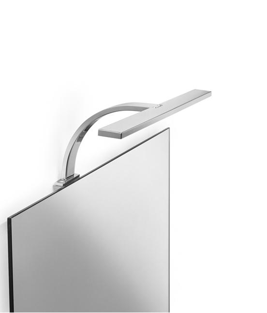 Lampada a led per specchio pavone casa arredamento bagno e design made in italy - Lampada led per specchio bagno ...