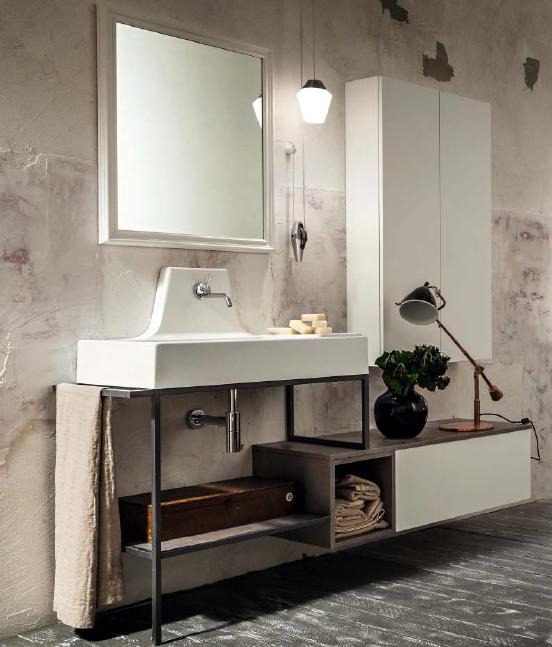 Mobile da bagno Ghisa Urban Play - Pavone Casa - Arredamento bagno e ...