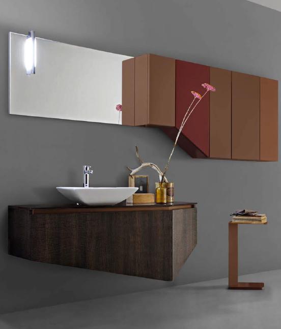 Mobile da bagno joy cacao pavone casa arredamento - Mobile bagno joy ...