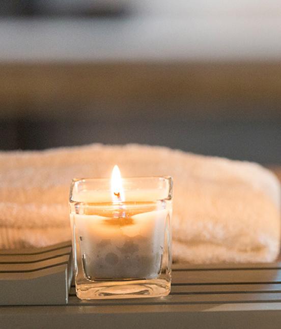 Candele oslo square pavone casa arredamento bagno e - Candele da bagno ...