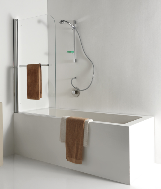 Parete sopra vasca ruby pavone casa arredamento bagno - Pica casa box doccia ...