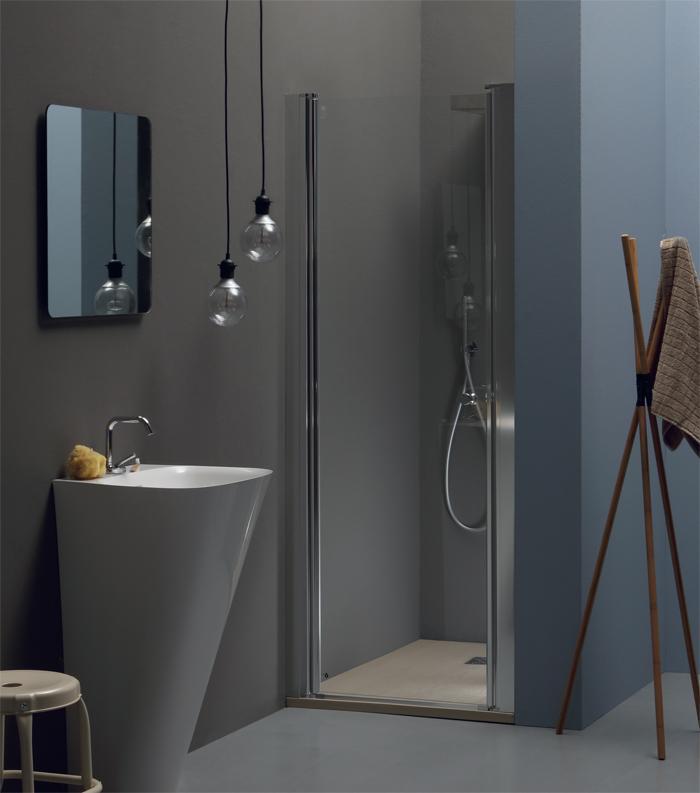 Porta doccia battente nicchia pb20 pavone casa - Pica casa box doccia ...