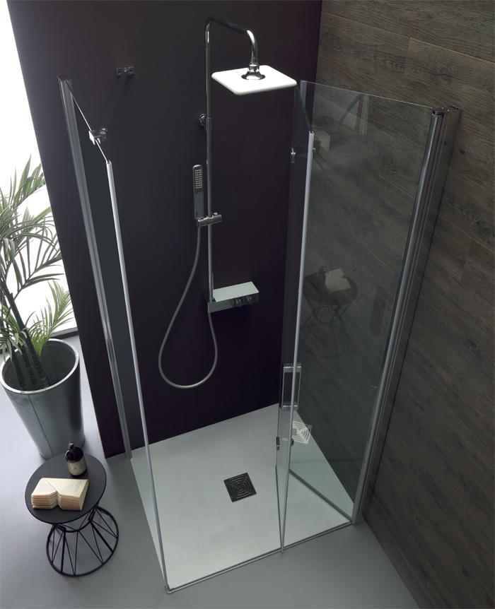 Box doccia soffietto ps35 porta a soffietto lato fisso - Pica casa box doccia ...